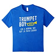 Funny Trumpet Boy But Louder School Band Gift T Shirt