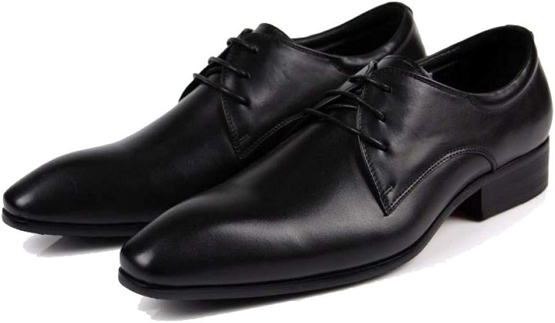 NIUMT herrar läder läder läder skor, British Style, Matte, Everyday, Casual, mode, Pointed, Lace -up skor  snabb leverans och fri frakt på alla beställningar