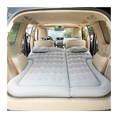 Jinan Car Inflatable Bed Air Mattress Universal Car Travel Sleeping Pad Outdoor Camping Mat (Color : Grey)