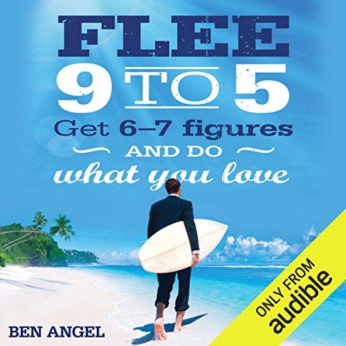 Flee 9-5 audiobook cover art