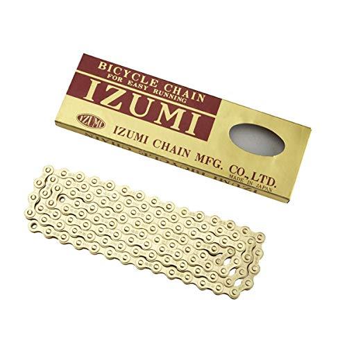Izumi Track/Fixed Gold Standard-Schiene/Feste Kette 1/8 x 1/2 (116 Glieder), Einheitsgröße