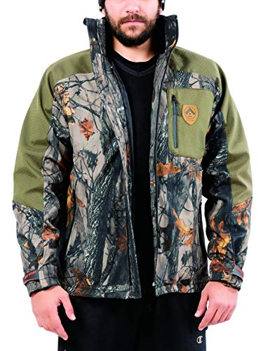 Camo Jacket ForCamo Hunting Jacket, Mens Camo Jacket Soft Shell Military Tactical Jacket With Camouflage