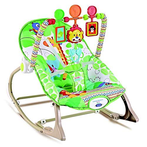 Cadeira de Descanço até 18 Kilos - Verde Floresta - Star Baby