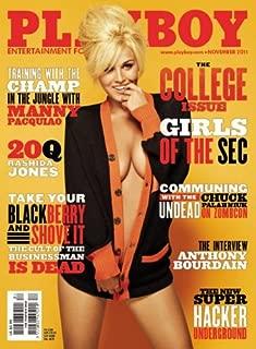 Playboy Magazine, November 2011