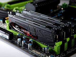 G.Skill F3-12800CL9T-12GBSR DDR3-1600 12GB(4GB*3枚組)KIT CL9 1.5Volt