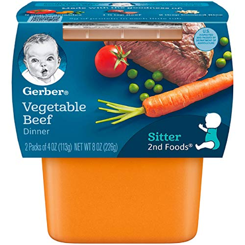gerber baby food assorted pack - 2