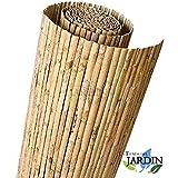 CAÑIZO natural partido JARDIN, útil para ocultación, delimitación o sombrajes (1,5 x 5 mts)