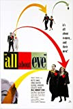All About Eve Classic Film Poster Bette Davis Marilyn