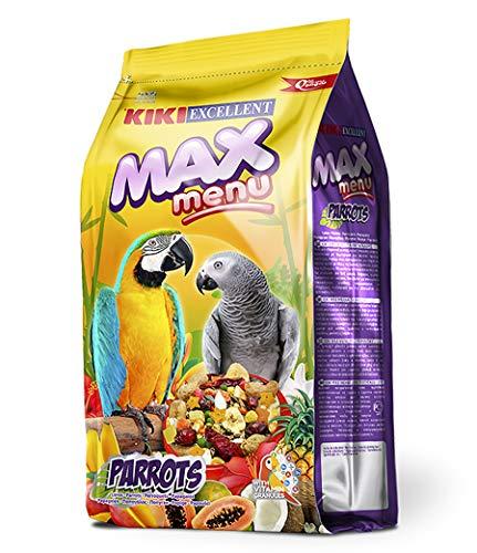 Kiki Max Menu - Alimento Completo para Loros y Cotorras, 1 kg