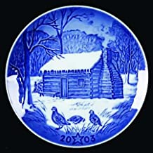 Bing & Grondahl, The American Christmas Heritage Collection, Christmas Eve at Lincolns Cabin, 2003