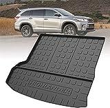 LADOG Alfombrillas para maletero de coche para K-I-A Picanto 2012-2020, alfombrilla de goma antideslizante y antisuciedad, accesorio para la protección interior del coche
