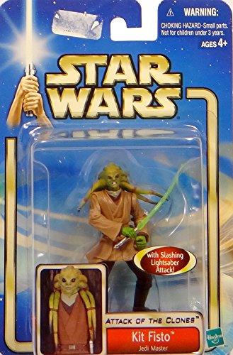 Hasbro Kit Fisto Arena Battle Attack of The Clones Figur No.05 - Star Wars Saga Collection 2002-2004
