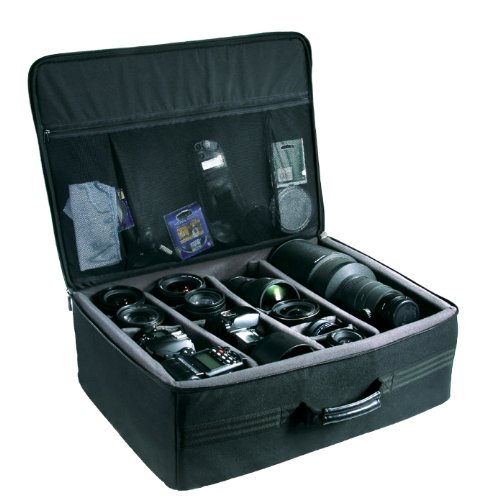 Vanguard Divider Bag 53 - Maleta Blanda para Guardar y Proteger Equipo fotográfico Completo