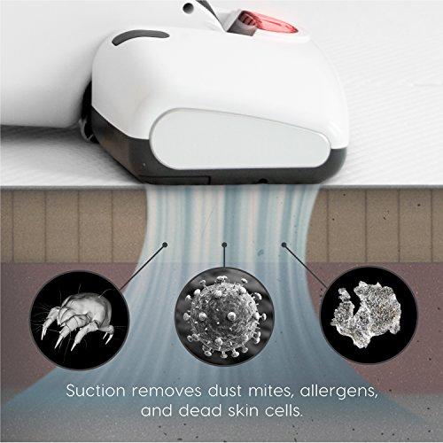 IRIS IC-FDC1 Cordless Mattress and Furniture Vacuum Cleaner, White