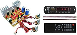 ERH INDIA Ready to use 2.1 Home Theater Amplifier Circuit Board Kit for Home Theatre Complete Kit with Bluetooth fm USB aux Card mp3 Stereo Audio Player