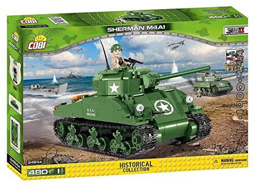 Cobi 2464 Small Army - World War II - Sherman M4A1