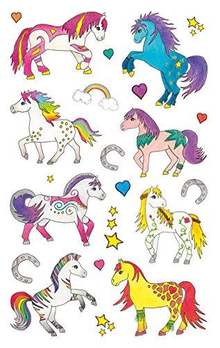 AVERY Zweckform 53222 papieren stickers, paarden, 22 stickers