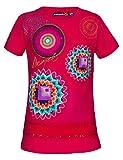 Desigual AEL Camiseta, Rosa (Fuchsia Rose 3022), 4 años para Niñas