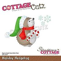 "CottageCutz Dies-Holiday Hedgehog, 2.8""X2.5"""