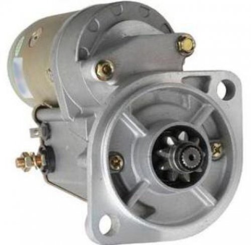 New Replacement Starter For Elgin Sweepers Eagle Isuzu C-240, Isuzu Industrial Equipment with C-190 or C-240 Engine, and John Deere Skid Steer Loaders 125 Teledyne