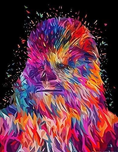 YCMXMY Puzzle 1500 Piezas,Orangután De Star Wars, Decoración para El Juego De Juguetes para El Hogar, Explora La Creatividad Y La Resolución De Problemas, 87X57Cm