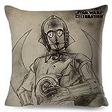 Kustom Factory - Cojín de Star Wars Sispeo C-3PO