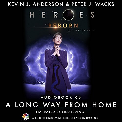 A Long Way from Home (Heroes Reborn 6) audiobook cover art