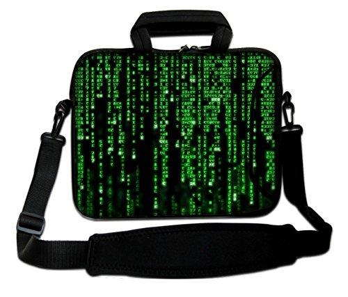 Ektor Laptoptasche mit Schultergurt Matrix Code 17 Zoll (25,4-44,7 cm), Größe 290 x 400 mm