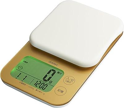 ドリテック デジタルスケール マイスケールプラス 2kg ゴールド KS-281GD