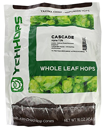 1 Pound Of Cascade Leaf Hops.