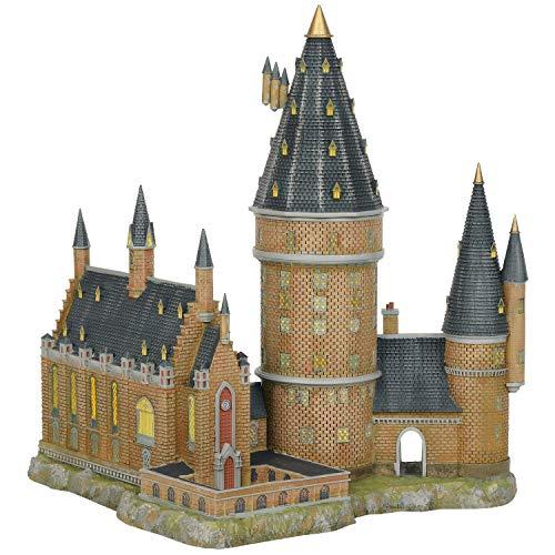 Department56 Harry Potter Village Hogwarts Hall and Tower Lit Building, 13.07″, Multicolor