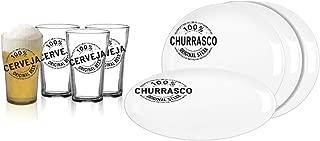 Conjunto 8 Peças para Churrasco H-Martin - 1860