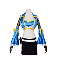 HXMCOS Cosplay Costume Lucy Heartfilia Dress Party Event Halloween