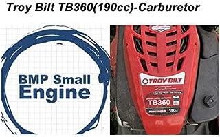 BMotorParts Carburetor Carb for Troy Bilt TB360 Push Mower Model# 12ABD3BZ711