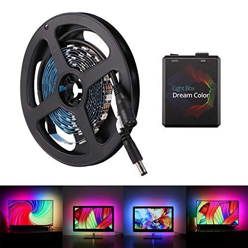 DeeCozy LED strip,LED Beleuchtungsstreifen,Band,led deckenleuchte,Lichterkette für HDTV Mehrfarben RGB Fernseher Flachbildfernseher LCD Desktop Monitore Für alle TV-Größen geeignet