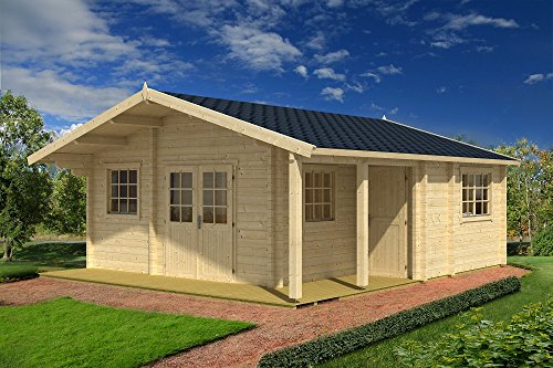 Casa Casetta cottage YUCON in legno GARTENPRO cm 575x575x306/218H