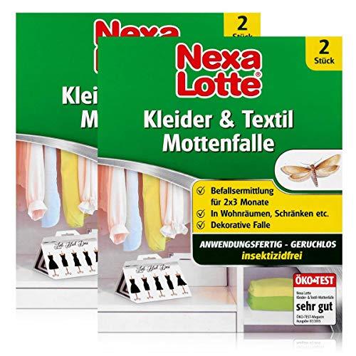 Nexa Lotte Kleider- & Textil-Mottenfalle 2 stk. - insektizidfrei (2er Pack)