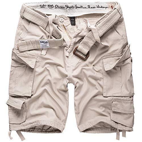 Surplus Division Pantaloncini Bianco Taglia L