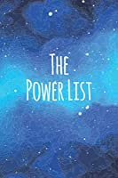 The Power List Starry Sky   Week and month Organizer with 90 days challenge   To Do Daily Planner   Perfect gift for boss   This Daily Checklist Productivity Journal will change your life   Task Notebook with Glossy Finish