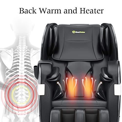 Real Relax 2020 Massage Chair, Full Body Zero Gravity Shiatsu Recliner with...