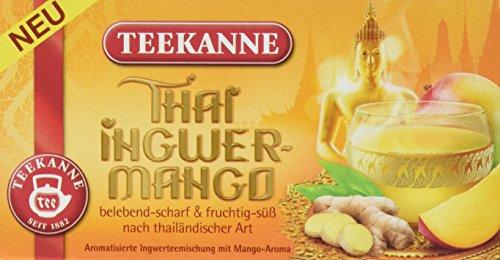 TEEKANNE Thai Ingwer-Mango, 6er Pack (6 x 45 g)