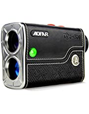 AOFAR GX-5N Golf Range Finder with Slope On/Off Indicator, Flag-Lock Vibration, 800 Yards with Hi-Precision Measuring 6X Magnification, Waterproof, Battery, Full Package