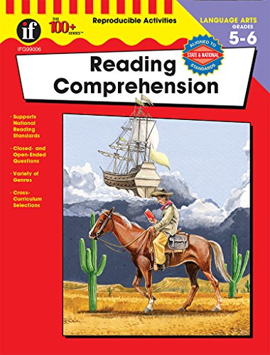 Carson Dellosa | Reading Comprehension Workbook | 5th–6th Grade, 128pgs (The 100+ Series™)