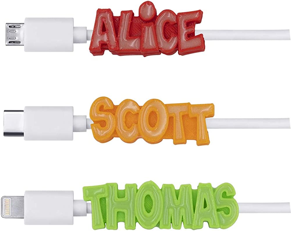 Getname Necklace USB Cheap mail order shopping Cable Personalized New color iPhon - Name for Glowing