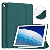 Soke iPad Air 3 Case 2019 with Pencil Holder, Premium Smart Case,...
