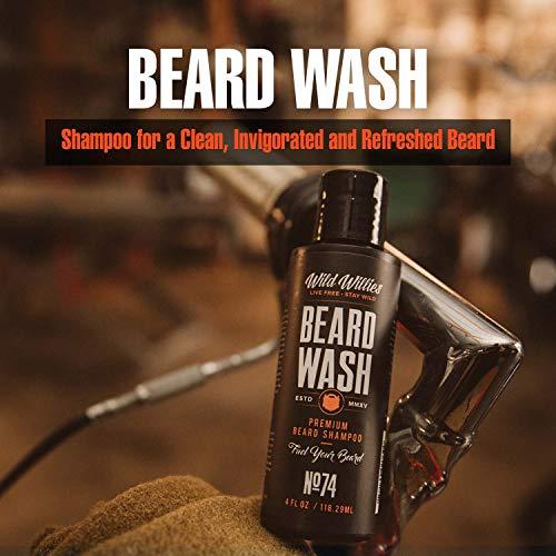 Wild Willies Beard wash, 4 Ounce