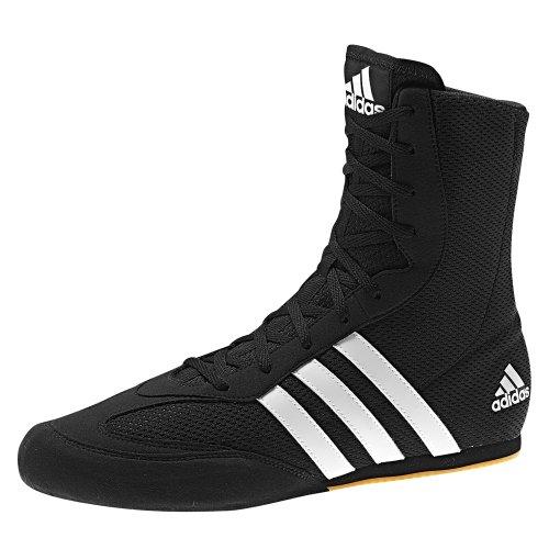 Adidas Box Hog 2 Uni Boxstiefel, Schwarz - Schwarz - Größe: 43 1/3 EU