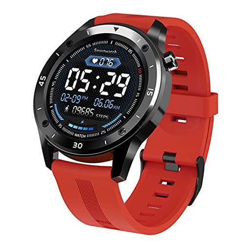 LAB F22 Smart Watch Impermeable Gran Pantalla Táctil Pantalla De OLED Mensaje Tiempo De Frecuencia Cardíaca Pulsera Inteligente Actividad Fitness Tracker Pulsera Pulsera,C