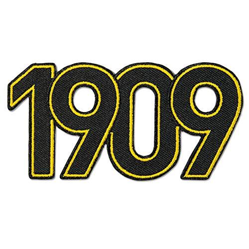 Borussia Dortmund BVB 09 BVB-Aufnäher 1909 - -