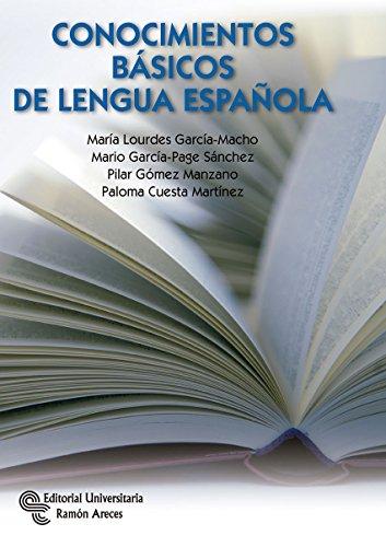 Conocimientos Básicos de Lengua Española (Manuales)